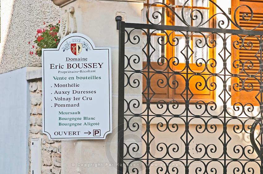 Eric Boussey. Burgundy, France