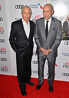 "LOS ANGELES, CA. November 10, 2018: Michael Douglas & Alan Arkin at the AFI Fest 2018 world premiere of ""The Kominsky Method"" at the TCL Chinese Theatre.<br /> Picture: Paul Smith/Featureflash"