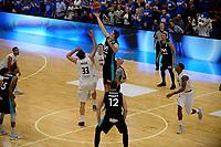 LEEUWARDEN - Basketbal, Donar - Estudiantes, Kalverdijkje, Champions League,  29-09-2017, start van een spectaculair Europa Cup duel
