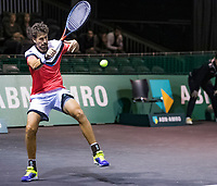 Rotterdam, The Netherlands, 9 Februari 2020, ABNAMRO World Tennis Tournament, Ahoy, Doubles: Robin Haase (NED).<br /> Photo: www.tennisimages.com