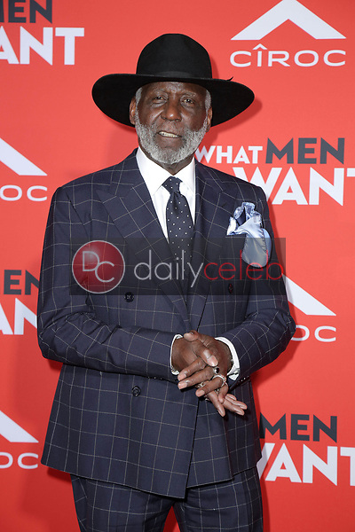 """Richard Roundtree<br /> at the """"What Men Want"""" Premiere, Village Theater, Westwood, CA 01-28-19<br /> David Edwards/DailyCeleb.com 818-249-4998"""