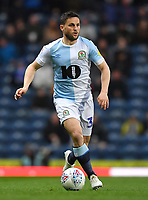 Blackburn Rovers' Craig Conway<br /> <br /> Photographer Dave Howarth/CameraSport<br /> <br /> The EFL Sky Bet Championship - Blackburn Rovers v Derby County -Tuesday 9th April 2019 - Ewood Park - Blackburn<br /> <br /> World Copyright &copy; 2019 CameraSport. All rights reserved. 43 Linden Ave. Countesthorpe. Leicester. England. LE8 5PG - Tel: +44 (0) 116 277 4147 - admin@camerasport.com - www.camerasport.com