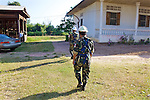 Cambodian Deminers Heading To Mine Field