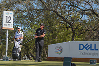 Phil Mickelson (USA) watches his tee shot on 12 during round 1 of the World Golf Championships, Dell Match Play, Austin Country Club, Austin, Texas. 3/21/2018.<br /> Picture: Golffile | Ken Murray<br /> <br /> <br /> All photo usage must carry mandatory copyright credit (&copy; Golffile | Ken Murray)