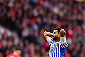 2nd December 2017, Wanda Metropolitano, Madrid, Spain; La Liga football, Atletico Madrid versus Real Sociedad; Willian Jose (12) of Real Sociedad