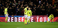 Blackburn Rovers' Lewis Travis reacts after Sheffield United's Billy Sharp had scored the second goal of the game<br /> <br /> Photographer Chris Vaughan/CameraSport<br /> <br /> The EFL Sky Bet Championship - Sheffield United v Blackburn Rovers - Saturday 29th December 2018 - Bramall Lane - Sheffield<br /> <br /> World Copyright © 2018 CameraSport. All rights reserved. 43 Linden Ave. Countesthorpe. Leicester. England. LE8 5PG - Tel: +44 (0) 116 277 4147 - admin@camerasport.com - www.camerasport.com