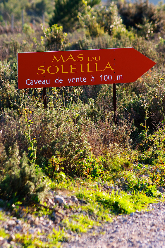 La Clape. Languedoc. Domaine Mas du Soleilla. Garrigue undergrowth vegetation with bushes and herbs. France. Europe.