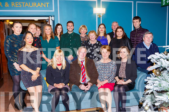 The staff of the Red Fox Inn Glenbeigh enjoying their Christmas party in the Killarney Heights Hotel on Saturday night