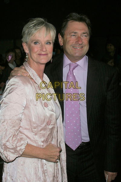 ALISON TITCHMARSH & ALAN TITCHMARSH.The Pride of Britain Awards, London Television Centre, South Bank, London, England, UK, .September 30th, 2008 .half length black suit jacket purple tie shirt married husband wife pink white dress .CAP/AH.©Adam Houghton/Capital Pictures.
