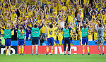 Sweden celebrates the 2-0 victory over Greece at Euro 2008. Greece-Sweden 06102008, Salzburg, Austria