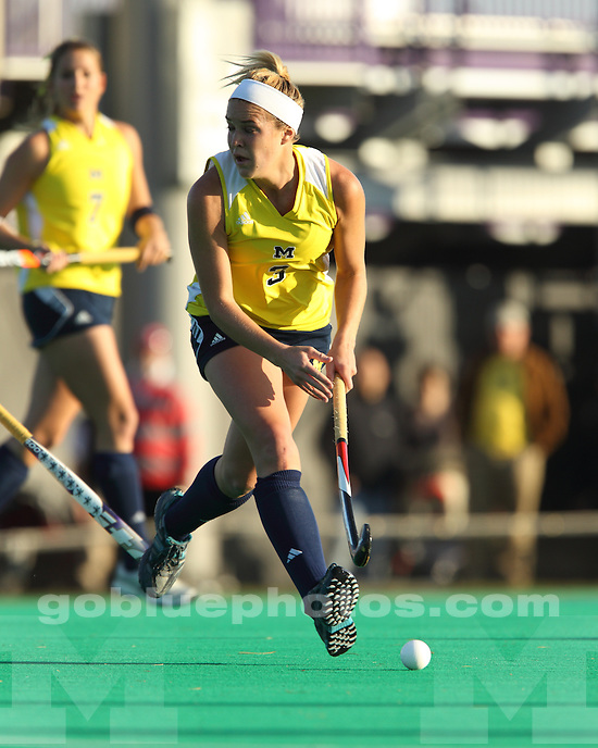 University of Michigan field hockey 2-1 victory over Ohio State University in the championship game of the 2010 Big Ten Field Hockey Tournament at Northwestern University in Evanston, IL, on Thursday, November 7, 2010.