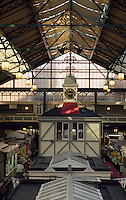 Markthalle in Cardiff, Wales, Großbritannien.covered market in Cardiff
