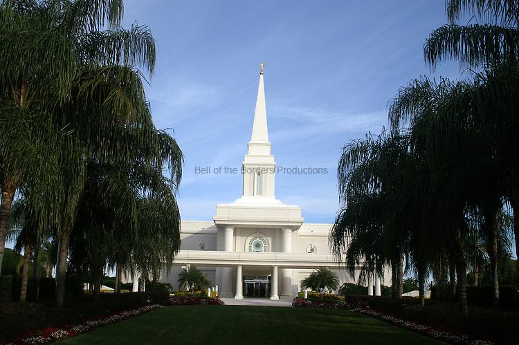 Entrance of Orlando Temple.