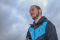 Michael Harriman of Wycombe Wanderers arrives ahead of the Sky Bet League 2 match between Luton Town and Wycombe Wanderers at Kenilworth Road, Luton, England on 26 December 2015. Photo by David Horn.
