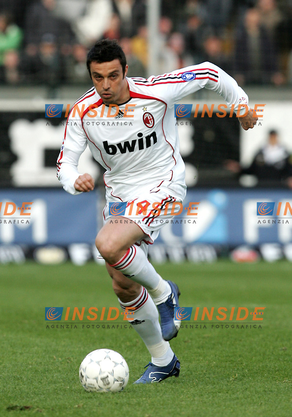 Massimo Oddo (Milan)<br /> Italian &quot;Serie A&quot; 2006-07<br /> 17 Feb 2007 (Match Day 24)<br /> Siena-Milan (3-4)<br /> &quot;Artemio Franchi&quot;-Stadium-Siena-Italy<br /> Photographer: Andrea Staccioli INSIDE