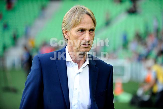 GRONINGEN - Voetbal, FC Groningen - Willem II,  Eredivisie , Hitachi stadion, seizoen 2018-2019, 17-08-2018,   Willem II trainer Adrie Koster