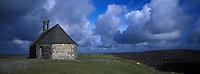 Europe/France/Bretagne/29/Finistère/Monts d'Arrée : Montagne et chapelle Saint-Michel