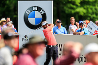 Joost Luiten (NED) on the 12th during round 3 of the 2016 BMW PGA Championship. Wentworth Golf Club, Virginia Water, Surrey, UK. 28/05/2016.<br /> Picture Fran Caffrey / Golffile.ie<br /> <br /> All photo usage must carry mandatory copyright credit (© Golffile   Fran Caffrey)