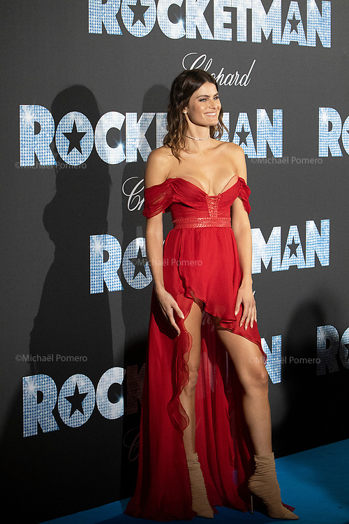 16 Mai 2019 Carlton hotel<br /> <br /> Isabeli Fontana pour la soirée de Rocketman .<br /> <br /> Isabeli Fontana at the Rocketman party.