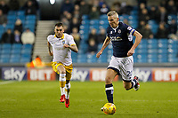 Steve Morison of Millwall during the Sky Bet Championship match between Millwall and Sheff Wednesday at The Den, London, England on 20 February 2018. Photo by Carlton Myrie.