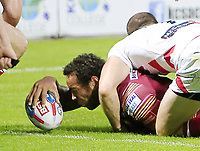 Picture by Chris Mangnall/SWpix.com - 14/07/2017 - Rugby League - Betfred Super League - Huddersfield Giants v Leigh Centurions - John Smith's Stadium, Huddersfield, England -<br />
