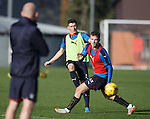 Fraser Aird and Andy Halliday