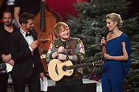 www.acepixs.com<br /> <br /> December 13 2017, Berlin<br /> <br /> Ed Sheeran performing during the 'The Voice of Germany' finals at Studio Berlin Adlershof on December 17, 2017 in Berlin, Germany. <br /> <br /> By Line: Famous/ACE Pictures<br /> <br /> <br /> ACE Pictures Inc<br /> Tel: 6467670430<br /> Email: info@acepixs.com<br /> www.acepixs.com