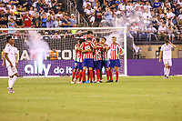 East Rutherford (EUA), 26/07/2019 - Amistoso Internacional / Real Madrid x Atlético de Madrid -  Jogadores do Atlético de  Madrid durante partida contra o  Real de Madrid  durante partida pela International Champions Cup no MetLife Stadium em East Rutherford nos Estados Unidos na noite desta sexta-feira, 26. (Foto: William Volcov/Brazil Photo Press/Agencia O Globo) Esportes