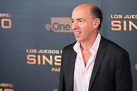 Producer Jon Kilik during the presentation of film &quot;The Hunger Games: Sinsajo Part 2&quot; in Madrid, Novermber 10, 2015.<br /> (ALTERPHOTOS/BorjaB.Hojas)