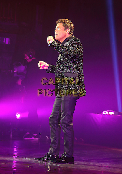 Donny Osmond performs as part of his Soundtrack To My Life Tour at the Eventim Apollo, Hammersmith, London on January 31st 2017<br /> CAP/ROS<br /> &copy; Steve Ross/Capital Pictures