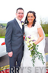 Rachel Gronell, Ballydavid, daughter of Paidi and Geraldine Cronell and Ronan McManus, Cavan, son of Tom and Lilly Anne McManus were married at Carrig Church  by Fr. Eoghan Kiely. The Couple held their reception at Ballyroe Heights Hotel on Saturday