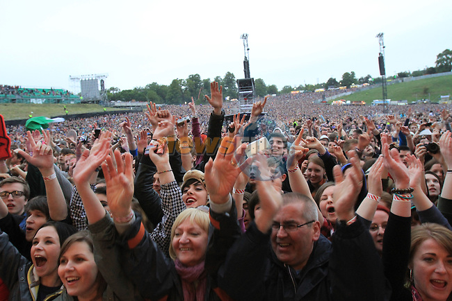 Kings of Leon concert at Slane Castle..Picture Fran Caffrey/www.newsfile.ie