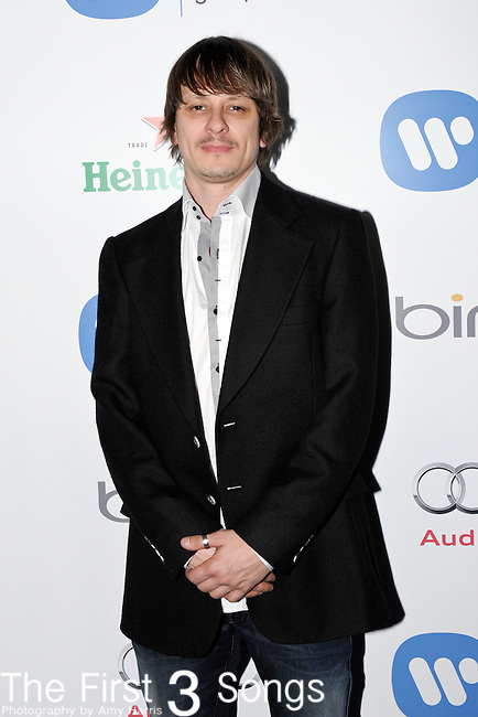 Drummer Ray Luzier of Korn attends the Warner Music Group/Bing Grammy Event at the Soho House in LA on Sunday February 13, 2011.