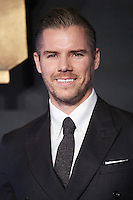 "Josh Cowdery<br /> at the premiere of ""Fantastic Beasts and where to find them"", Odeon Leicester Square, London.<br /> <br /> <br /> ©Ash Knotek  D3198  15/11/2016"