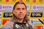 14.01.2018, Signal Iduna Park, Dortmund, GER, 1.FBL, Borussia Dortmund vs VfL Wolfsburg, im Bild Martin Schmidt (Vfl Wolfsburg) in der Pressekonferenz<br /> <br /> <br /> Foto &copy; nordphoto / Mauelshagen