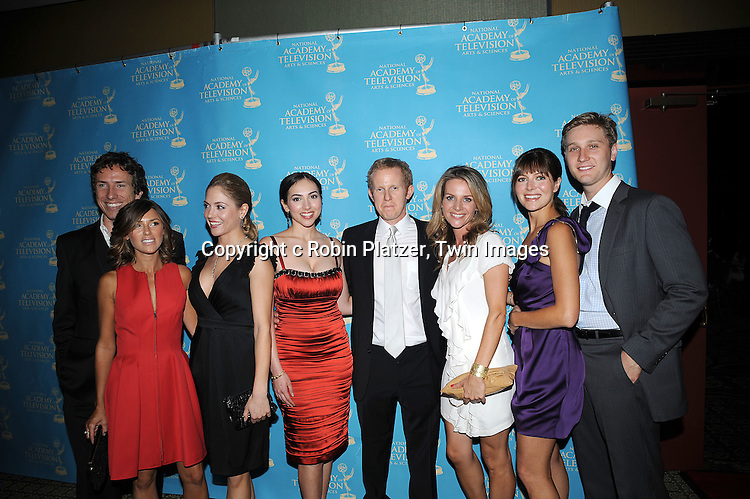 posing for photographers at The Daytime Emmy 36th Annual Creative Arts and Entertainment Awards on ..August 29, 2009 at The Westin Bonaventure Hotel. ....Robin Platzer/Twin Images
