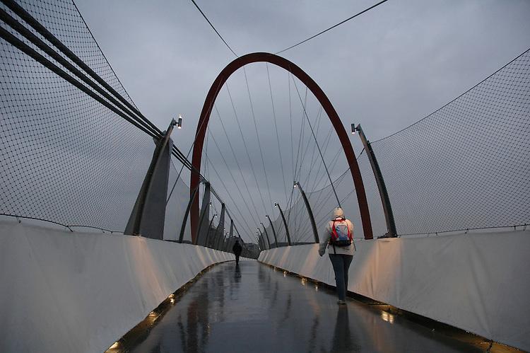 L'Arco Olimpico di Torino. Olympic Arch in Torino.