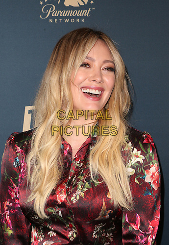 30 May 2019 - West Hollywood, California - Hilary Duff. LA Press Day For Comedy Central, Paramount Network, And TV Land held at The London West Hollywood. <br /> CAP/ADM/FS<br /> ©FS/ADM/Capital Pictures