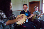 Port Townsend, Fort Worden, Centrum, Choro musicians, Alexandre Lora, pandeiro, percussion, Choro Workshop, Brazilian music, Thursday, Olympic Peninsula, Washington State, music, music festivals,