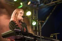 Freya Ridings plays day one of the 2019 Latitude Festival at Henham Park, Suffolk.