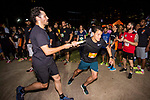 Runners compete at the Bloomberg Square Mile Relay race at Parque do Povo on 18 October 2017 in São Paulo, Brazil. Photo by Daniel Vorley / Power Sport Images