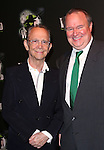 Joel Grey and Tom McGowan  attending the 10th Anniversary Celebration Party for 'Wicked'  at the Edison Ballroom on October 30, 2013  in New York City.