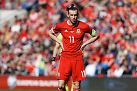 Gareth Bale of Wales in action during the UEFA EURO 2020 Qualifier match between Wales and Slovakia at the Cardiff City Stadium, Cardiff, Wales, UK. Sunday 24 March 2019