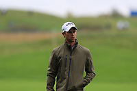 Thomas Detry (BEL) on the 13th during Round 4 of the Amundi Open de France 2019 at Le Golf National, Versailles, France 20/10/2019.<br /> Picture Thos Caffrey / Golffile.ie<br /> <br /> All photo usage must carry mandatory copyright credit (© Golffile | Thos Caffrey)