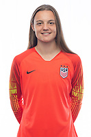 Sarasota, FL - Saturday, October 09, 2018:  Headshot of U-17 USWNT player Julia Dohle.