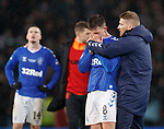 08.11.2019 League Cup Final, Rangers v Celtic: Steven Davis tries to console Ryan Jack