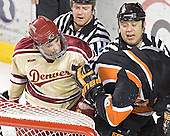 Denver ?, Kevin Westgarth - The Princeton University Tigers defeated the University of Denver Pioneers 4-1 in their first game of the Denver Cup on Friday, December 30, 2005 at Magness Arena in Denver, CO.