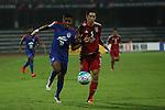 JSW Bengaluru FC (IND) vs Johor Darul Ta'zim (MAS) during the AFC Cup 2016 Semi-Finals 2nd leg match at Sree Kanteerava Stadium on 19 October 2016, in Bangalore, India. Photo by Saikat Das / Lagardere Sports