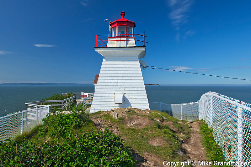 Lighthouse on Bay of Fundy<br />
