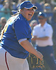 Christina Loeffler #45 of East Meadow reacts after the final out of her team's 3-1 win over Long Beach in Game 3 of the Nassau County varsity softball Class AA final at Mitchel Athletic Complex on Friday, May 26, 2017. East Meadow took the best-of-three series two games to one.